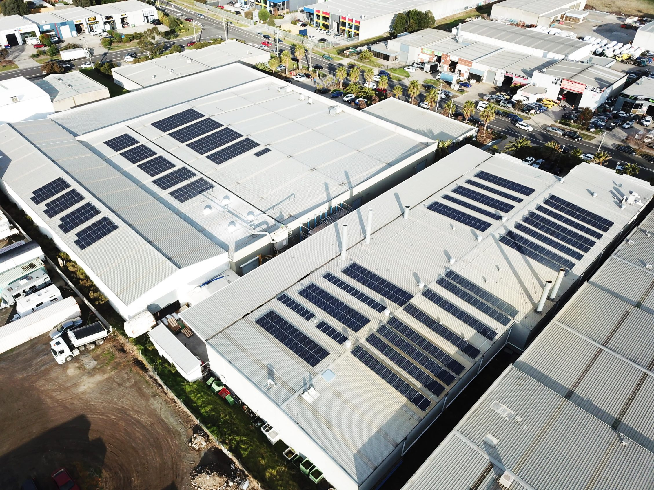 200kW Commercial Solar