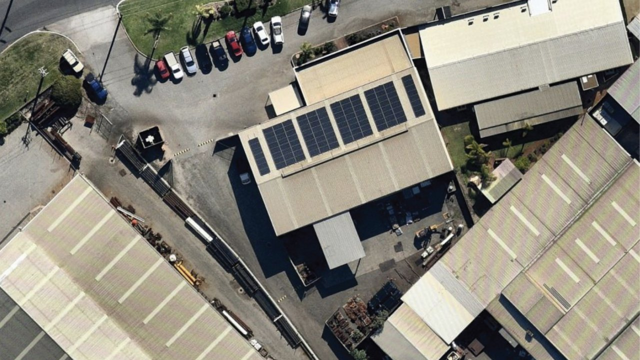 40kW Commercial Solar Installation