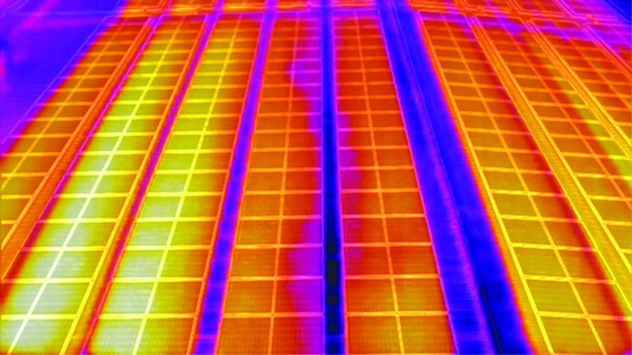 Solar panels reduce cooling costs?
